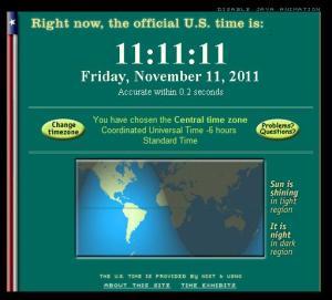 11:11:11 on 11/11/11